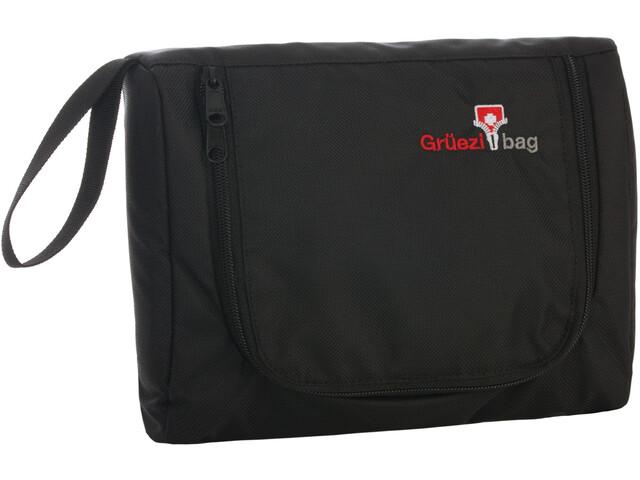 Grüezi-Bag Flatbag Kulturbeutel black